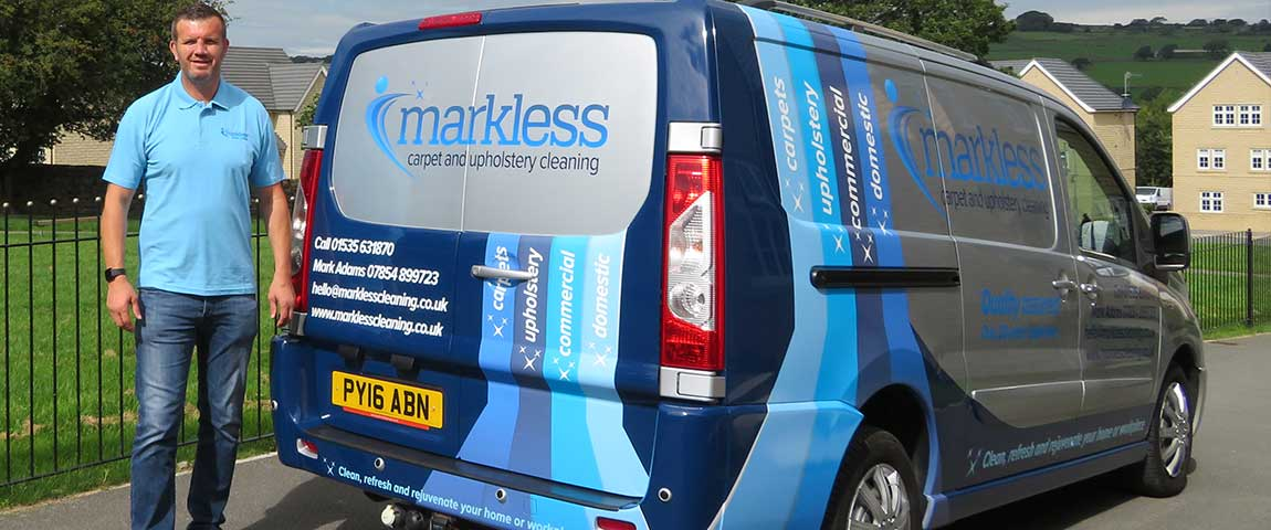 Markless Cleaning Van